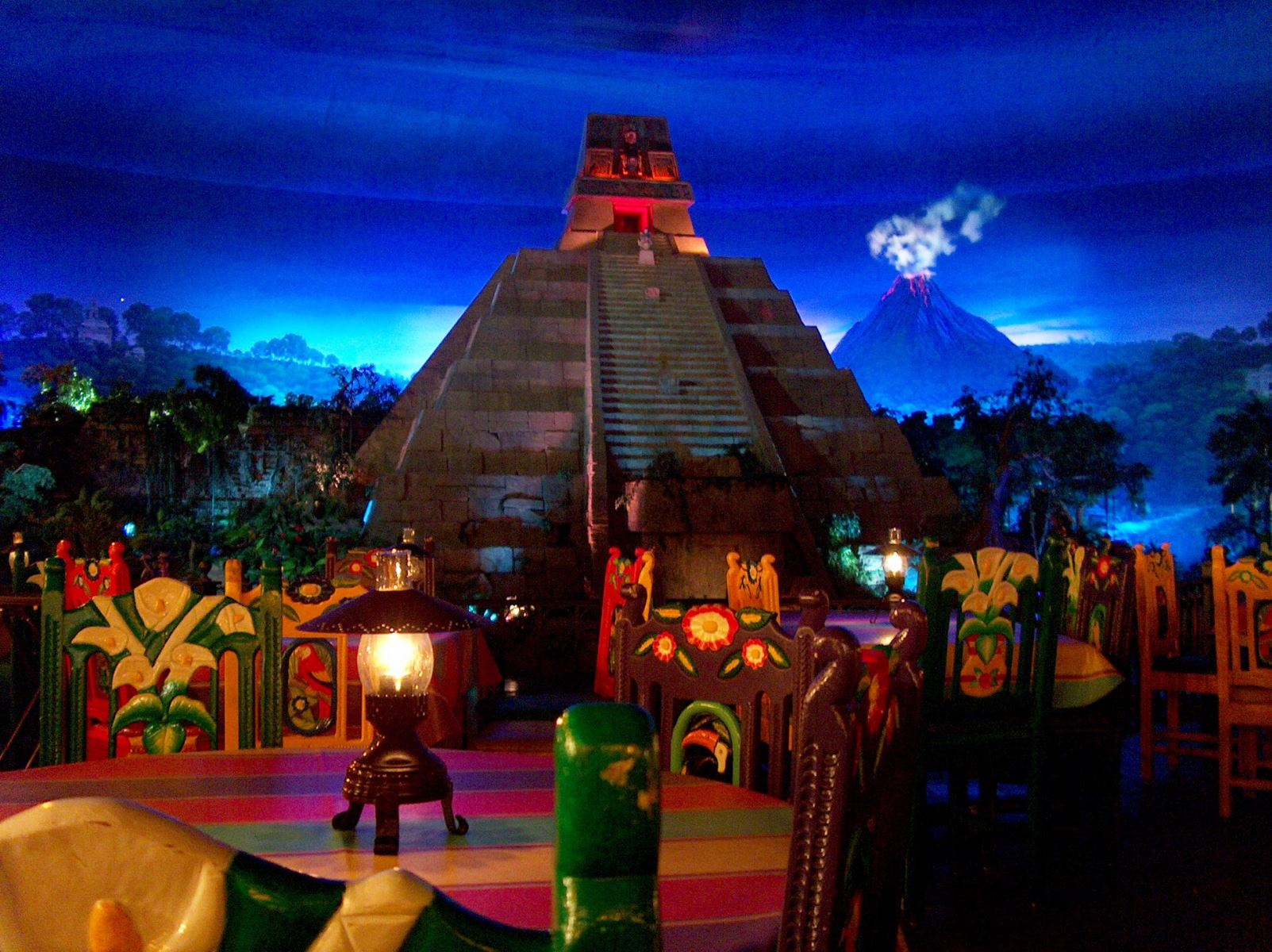 EPCOT Restaurant in Mexico